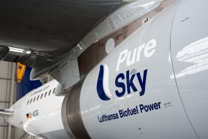 Pure Sky, Lufthansa Biofuel Power
