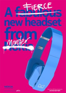 Nokia and Monster Cable advertisement