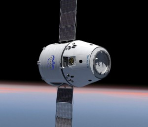 Space X Dragon Capsule